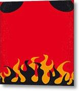 No131 My Hellboy Minimal Movie Poster Metal Print by Chungkong Art