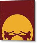 No178 My Kickboxer Minimal Movie Poster Metal Print