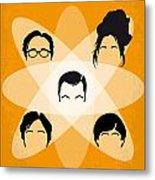 No196 My The Big Bang Theory Minimal Poster Metal Print