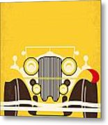 No206 My The Great Gatsby minimal movie poster Metal Print