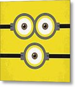 No213 My Despicable Me Minimal Movie Poster Metal Print