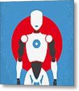 No275 My I Robot Minimal Movie Poster Metal Print