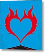 No337 My Wild At Heart Minimal Movie Poster Metal Print