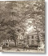 No.3933.f8 View Of The Stables On Lord Metal Print