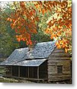 Noah Bud Ogle Farm Autumn Sunshine Metal Print