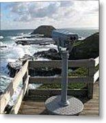 The Nobbies Outlook - Great Ocean Road, Australia Metal Print
