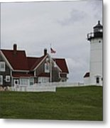 Nobska Point Light Metal Print