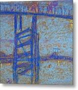 Nocturne. Battersea Bridge Metal Print