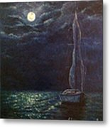Nocturne Song Metal Print