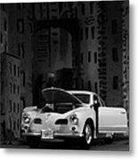 Noir City Metal Print