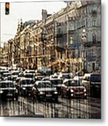 Noise In The City Metal Print