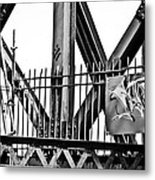 None Shall Pass Metal Print