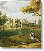 Nonsuch Palace In The Time Of King Metal Print