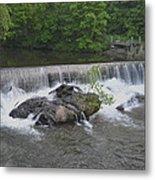 Nora Mill Dam - Chattahoochee River Metal Print