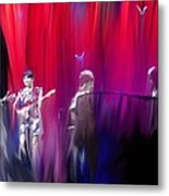 Norah Jones On Stage Metal Print