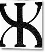 Nordic Rune Gilch Metal Print