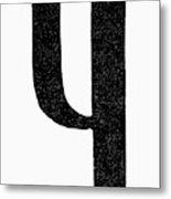 Nordic Rune Kinda Metal Print