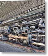 Norfolk And Western Locomotive 1218 Metal Print