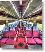 Norfolk And Western Passenger Coach Metal Print