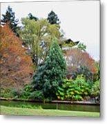 Norfolk Botanical Gardens Canal 9 Metal Print