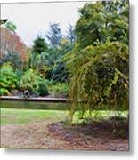 Norfolk Botanical Gardens Canal Metal Print