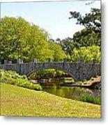 Norfolk Botanical Gardens In Color Metal Print