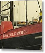 Norfolk Rebel Metal Print