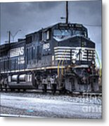 Norfolk Southern #8960 Engine II Metal Print