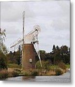 Norfolk Windmill Metal Print