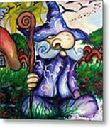 Norm The Little Old Wizard Metal Print