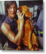 Norman And Charlie  Metal Print