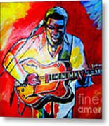 Norman Brown  Metal Print