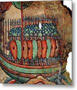 Norman Soldiers 11th Century Metal Print
