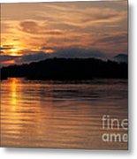 Norris Lake Sunrise Metal Print