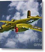 North American B-25j Metal Print