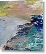 North Beach Rocks Of San Francisco Metal Print