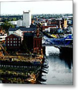 North Bridge Kingston Upon Hull Metal Print by Anthony Bean