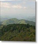 North Carolina Blue Ridge Mountains Metal Print