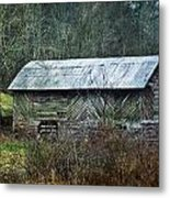 North Carolina Country Barn Metal Print