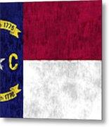 North Carolina Flag Metal Print by World Art Prints And Designs