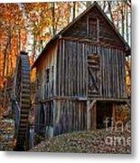 North Carolina Grist Mill Photo Metal Print
