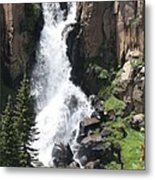 North Clear Creek Falls Metal Print