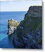 Photographs Of Cornwall North Coast  Cornwall Metal Print