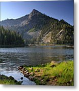 North Face Of Jughandle Mountain Metal Print