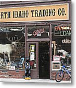North Idaho Trading Company Metal Print
