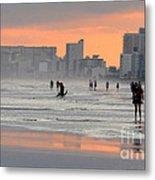 North Myrtle Beach At Sunset Metal Print