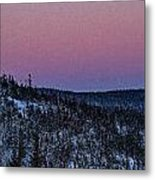 North Of Superior Metal Print