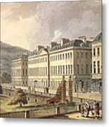 North Parade, From Bath Illustrated Metal Print
