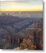 North Rim Sunrise Panorama 2 - Grand Canyon National Park - Arizona Metal Print