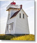 North Rustico Lighthouse Metal Print